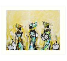 African Pride 2 Art Print