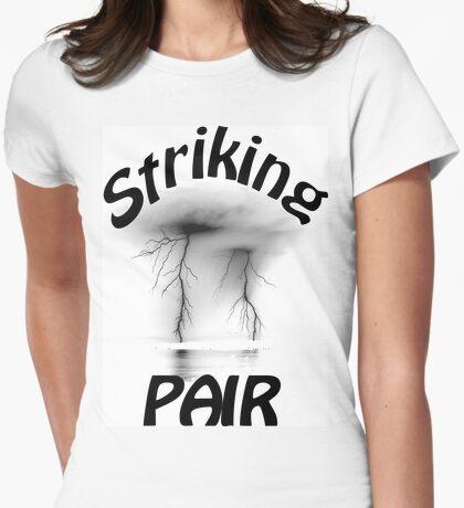 Striking Pair Sport T-Shirt Womens Fitted T-Shirt