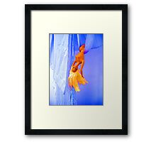Barbie Swinging Framed Print