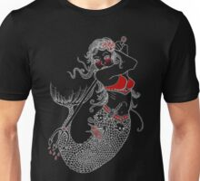 Mermaid Tattoo Unisex T-Shirt