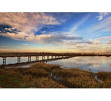 Bolsa Chica Wetlands in Wide Angled View Photographic Print