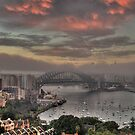 City In The Clouds - Moods Of A City - The HDR Experience by Philip Johnson