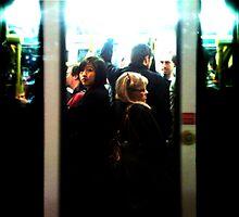 Friday Night Tram by AspectJones