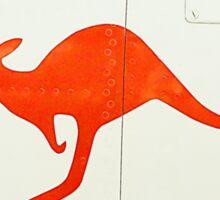 Flying Kangaroo Sticker