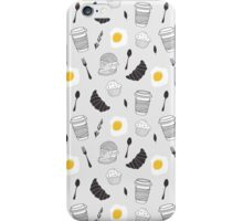 Food pattern iPhone Case/Skin