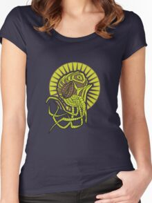 Cthulhu sleeping Women's Fitted Scoop T-Shirt