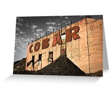 Cobar Legacy Greeting Card
