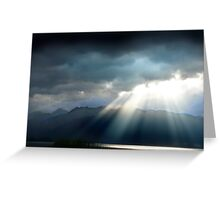 Te Anau Dusk Greeting Card
