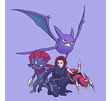 pokemon black widow Photographic Print