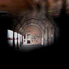 Abandoned Train Station by madworld