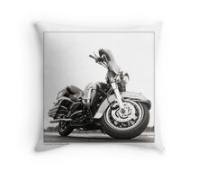 """Harley-Davidson Electra Glide Ultra Classic"" Throw Pillow"