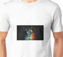 glass paint explosion Unisex T-Shirt