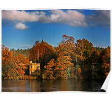 Autumn on the River Tay Poster