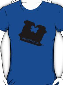 Australia Bread Tag - Light Colours - Customisable T-Shirt