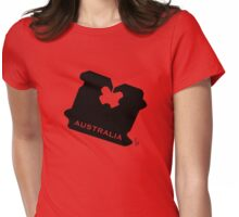 Australia Bread Tag - Light Colours - Customisable Womens Fitted T-Shirt