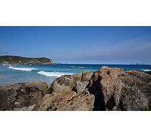 Rocks and the Ocean Photographic Print