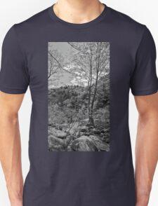 Rock Shadow Trees Unisex T-Shirt