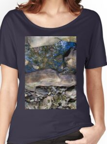 Tree Reflection Rocks Women's Relaxed Fit T-Shirt