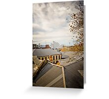 Rooftop Living Greeting Card