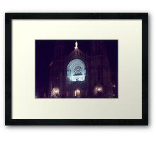 St.Anne de Beaupre Framed Print