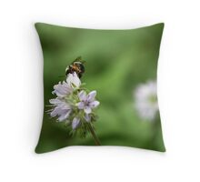 Another Day At Work Throw Pillow