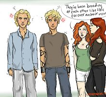 Movie Clace Meets Book Clace by elizabethrast