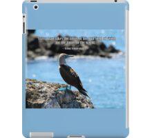 Wise Bird Philosophy iPad Case/Skin