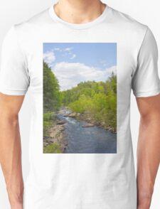 Stream Path Sky Unisex T-Shirt