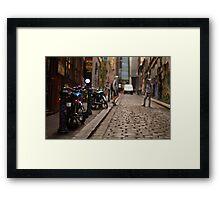Which bike? Framed Print