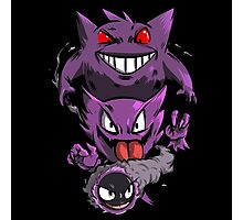 gengar evolution Photographic Print