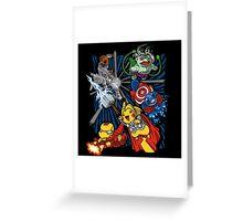 pokemon avengers Greeting Card
