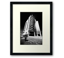 UP! Framed Print