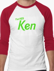 Ken and Barbie Matching Couple Shirt Men's Baseball ¾ T-Shirt