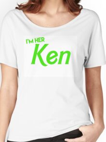 Ken and Barbie Matching Couple Shirt Women's Relaxed Fit T-Shirt