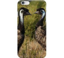 Two Emus iPhone Case/Skin
