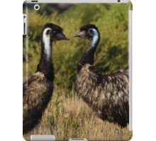 Two Emus iPad Case/Skin