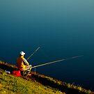 "City Life - ""Sunday Fishing"" by Denis Molodkin"