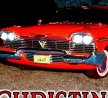 Christine - from the mind of horror writer stephen King Sticker