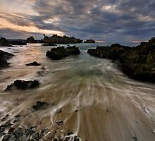 Winter Coast Flow by Robert Mullner