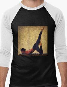Yoga art 12 Men's Baseball ¾ T-Shirt