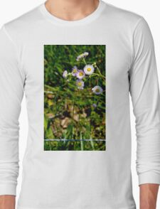 Barbed Flowers Long Sleeve T-Shirt