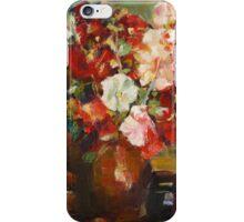 N. Feshin Hollyhocks  (author's copy) iPhone Case/Skin
