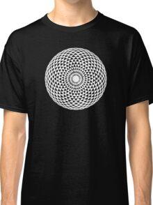 White Geometric eye  Classic T-Shirt