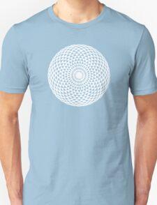 White Geometric eye  Unisex T-Shirt