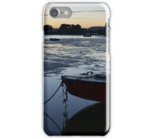 Mudeford at dusk - Dorset iPhone Case/Skin
