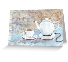 Tea for Two! Greeting Card