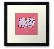Blobhorn Framed Print