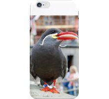 Inca Tern with fish iPhone Case/Skin