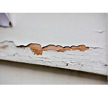 Cracking paint Photographic Print