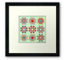 Holiday Cheer Foot Flowers Framed Print